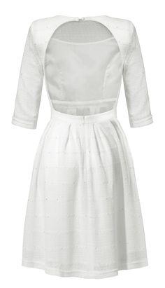 Sukienka Francesca w kolorze białym