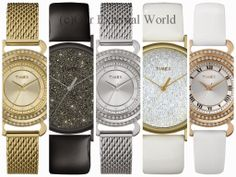 #pamper #timex #crystalwatches #giftingideas