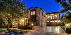 major curb appeal at night!