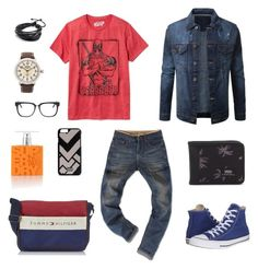 """""""First Try"""" by andrew-wenas-agung-nugroho on Polyvore featuring Old Navy, Converse, Dolce&Gabbana, RetroSuperFuture, Superdry, Vans, Shinola, mens, men and men's wear"""