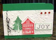 Christmas Joy - Karen Ladd - winter scene card