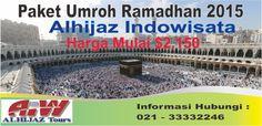 Kami dari Travel Umroh Murahdan Hemat Alhijaz Indowisata, membuka program umroh di bulan ramadhan 2015 dengan berbagai pilihan paket diantaranya Umroh Awal Ramadhan, Umroh Tengah Ramadhan, Umroh Akhir Ramadhan (lailatul qadr), dan Umroh Full Ramadhan satu bulan penuh