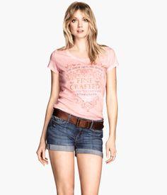 Denim shorts €24,99 Product Detail | H&M GR
