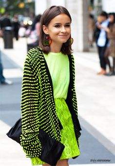 Mira Duma is a former editor of Haarpers Bazaar Russia who now writes for a number of other Russian fashion publications, such as Glamour Russia and Tatler.  NYFWSS2012 via tresawesome