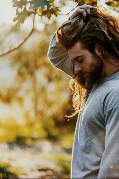 42.45 Long Hairstyles for Men