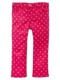 Livia: Toddler Girls' Jeans: boot-cut, wide leg, straight, skinny, embroidered jeans at babyGap   Gap
