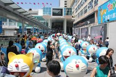 many doraemon in HK
