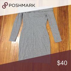 Off the shoulder gray dress Off the shoulder gray tight dress Endless Rose Dresses Mini