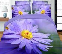 Pościel 3D 160 x 200 cm. Kwiaty KOD-1707-03