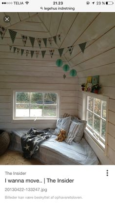 Playhouse Interior, Shed Interior, Cubby Houses, Play Houses, Kids Shed, Tree House Interior, Shed Decor, Wendy House, House Extension Design