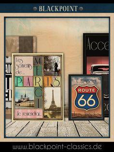 Paris  London  Rom - Collagen der berühmten Reiseziele unserer Welt