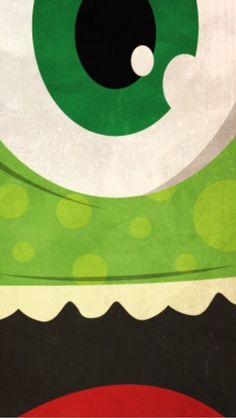 Pixar Character wallpaper - Mike