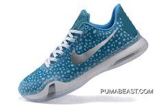 ad5fac823fae Kobe 10 Safari Print Light Blue Silver Online