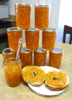 How to Make and Can Old Fashioned Marmalade~AreWeCrazyOrWhat.net... Great step-by-step instructions and looks so tasty.