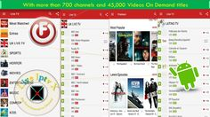 Watch 700 Live Channels and 45000 Videos On Demand With FilmOn Free Live TV APK On Android https://youtu.be/ZrOayle8N0c
