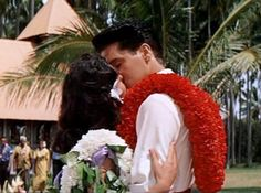 Final take on Blue Hawaii as Elvis and Joan are married (the wedding scene).