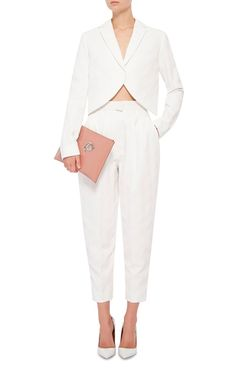 High-rise pleated trousers Delpozo 6icmra