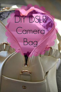 diy dslr camera bag