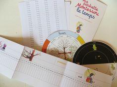 Ma pochette Montessori du temps 2