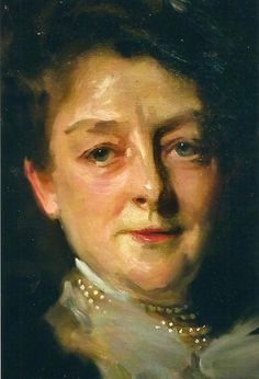 John Singer Sargent's Mrs. J. William White (Close-up)
