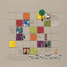The Lilypad :: Templates :: Templates: Monthly Gridlock