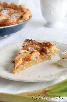 Rhabarber Zimt Kuchen - Rhubarb Cinnamon Pie