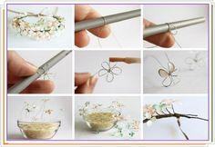 como+hacer+flores+de+alambre+rellenandolas+de+esmalte+de+uñas.jpg 734×504 pixels