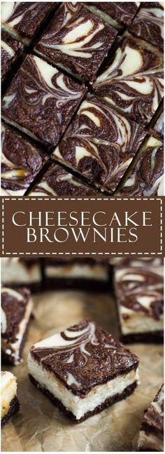 Cheesecake Brownies | Marsha's Baking Addiction