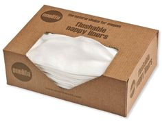 Buy your Onelife Flushable Biodegradable Nappy Liners from Kiddicare Re-useable Nappies| Online baby shop | Nursery Equipment