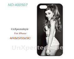 Ariana grande Phone Cases, iPhone 5/5S Case, iPhone 5C Case, iPhone 4/4S Case, Phone covers, ariana grande, Skins, Case for iPhone-400507