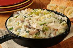 One-Pot Dinner Recipe: Creamy Chicken & Mushroom Risotto