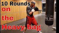 How to Do 10 Round Heavy Bag Workout in the Right Way http://punchingbagsguide.com/10-round-heavy-bag-workout/ #workout #boxing