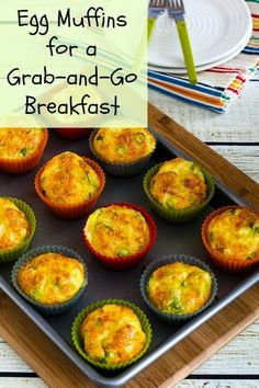 Egg Muffins for a Grab-and-Go Breakfast