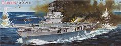 United States Navy aircraft carrier CV-5 Yorktown 1943