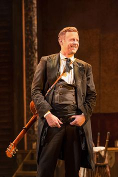 Tom Lister as Wild Bill Hickok  In Calamity Jane .at Perth Connect Hall .