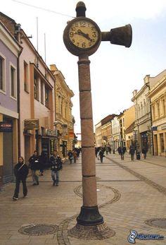 pěší zona Nitra, Slovakia Czech Republic, Hungary, Austria, Big Ben, Poland, Explore, Places, Travel, Group