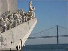 Padrão dos Descobrimentos (Discoveries Monument) Lisbon, Portugal  http://www.golisbon.com/sight-seeing/discoveries.html#