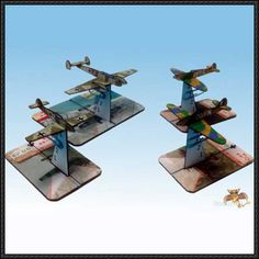 WWII 2.5D Fighter Paper Models Free Download - http://www.papercraftsquare.com/wwii-2-5d-fighter-paper-models-free-download.html