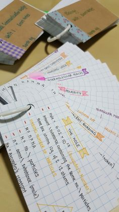 Cute Notes//Yellow//Orange//Purple//Pink