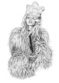 how to draw fur digitally