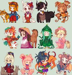 ALL ARE ADOPTED. All of these girls are up for adoption! Comment flr the one you want and I will tell you their name and history