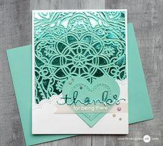 Foil Backgrounds + Blog Hop + GIVEAWAY - Jennifer McGuire Ink