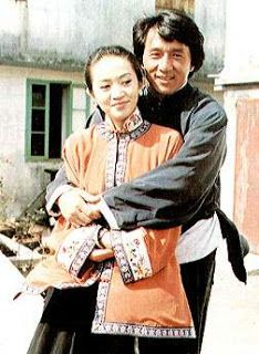 September 2010 | Sean Akizuki's Favorite Oriental Fanatics Celebs - The late Anita Mui and Jacky Chan, on the set. She played a wisecracking stepmother (and maternal aunt) of Jacky Chan's character, Wong Fei Hung. While she is more known for her serious films, in this one she is pretty lively and funny which shows how much of an awesome actress she was when she still alive.