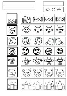 discrimination visuelle - la maternelle de Camille Visual Perception Activities, Visual Learning, School Worksheets, Worksheets For Kids, Kids Schedule, Vision Therapy, Visual Memory, Gross Motor Activities, Hidden Pictures