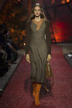 Hermès Fall-Winter 2018-2019 #pfw #parisfashionweek #moda #мода #dress