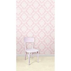 Bring sweet vibes to your nursery decor or child's room with this darling pink peel and stick wallpaper that goes up in just minutes! - Pink Ariel NuWallpaper