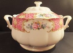 Royal Albert Lady Carlyle Soup Tureen New with Tag New - First Quality - Open Stock Note: Packaged in Brown Container from RA. I have opened the box for inspection only. Please ask if you have any que