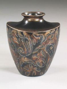 VASE, SENSUS, 34X25X41H - Marco Polo - Antiques online -