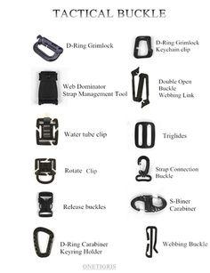Amazon.com: OneTigris ассорти Grimloc Многофункциональный Тактические пряжкой Молл Организатор мгновенного брелок: Спорт на открытом воздухе и