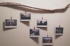 20 ideias para incluir varais de fotos na decoração de casa